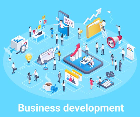 事業展開サポートのイメージ画像